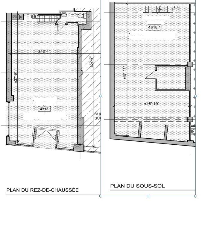 General office for rent in Westmount at 4814-4824 Sherbrooke West - Floorplan 01 - RentersPages – L12808