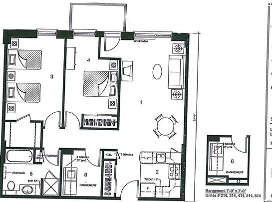 Laval 1 Bedroom Assisted Living Retirement Home At Les Jardins De Renoir
