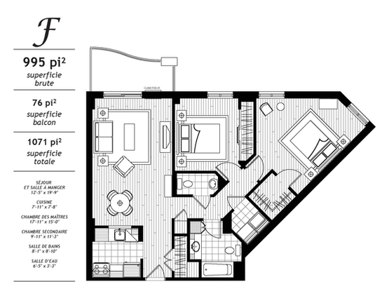 Jazz lebourgneuf les rivieres for 2 bedroom retirement house plans