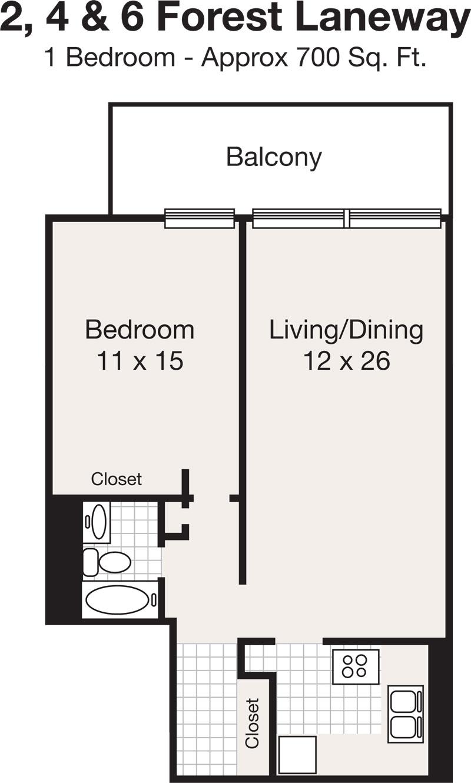 Studio Apartment Yonge And Eglinton sheppard centre - north-york | renterspages