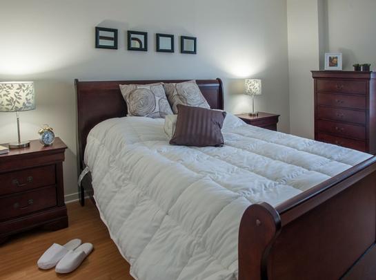 1 bedroom Independent living retirement homes for rent in Saint Lambert at Jardins Interieurs - Photo 06 - RentersPages – L19487