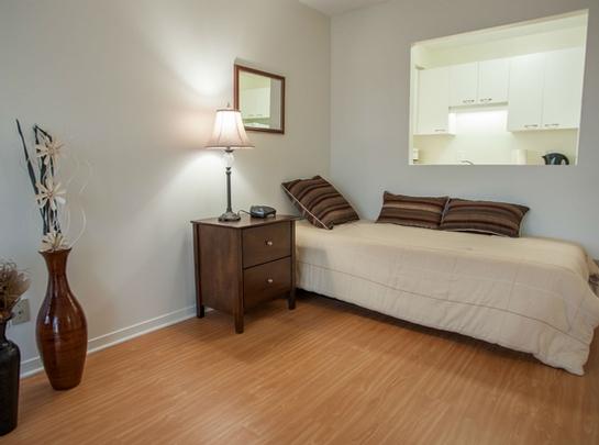 1 bedroom Independent living retirement homes for rent in Saint Lambert at Jardins Interieurs - Photo 07 - RentersPages – L19487