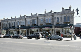 General retail space for rent in Westmount at 4868-4896 Sherbrooke West - Photo 01 - RentersPages – L12800