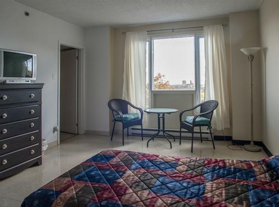 Studio / Bachelor Independent living retirement homes for rent in Hochelaga-Maisonneuve at Manoir Louisiane - Photo 09 - RentersPages – L19529