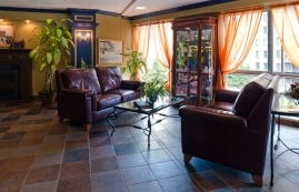 2 bedroom Independent living retirement homes for rent in Quebec City at Manoir Manrese - Photo 01 - RentersPages – L19583