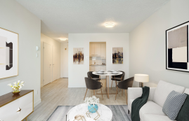 1 bedroom Apartments for rent in Laval at Le Quatre Cent - Photo 01 - RentersPages – L407183