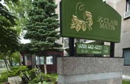 2 bedroom Independent living retirement homes for rent in Longueuil at Le Clair Matin - Photo 01 - RentersPages – L19495