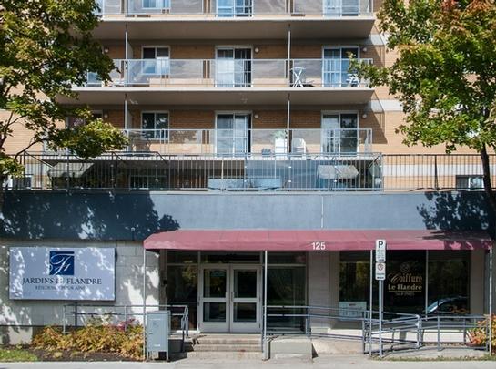 1 bedroom Independent living retirement homes for rent in La Cite-Limoilou at Jardins Le Flandre - Photo 02 - RentersPages – L19552