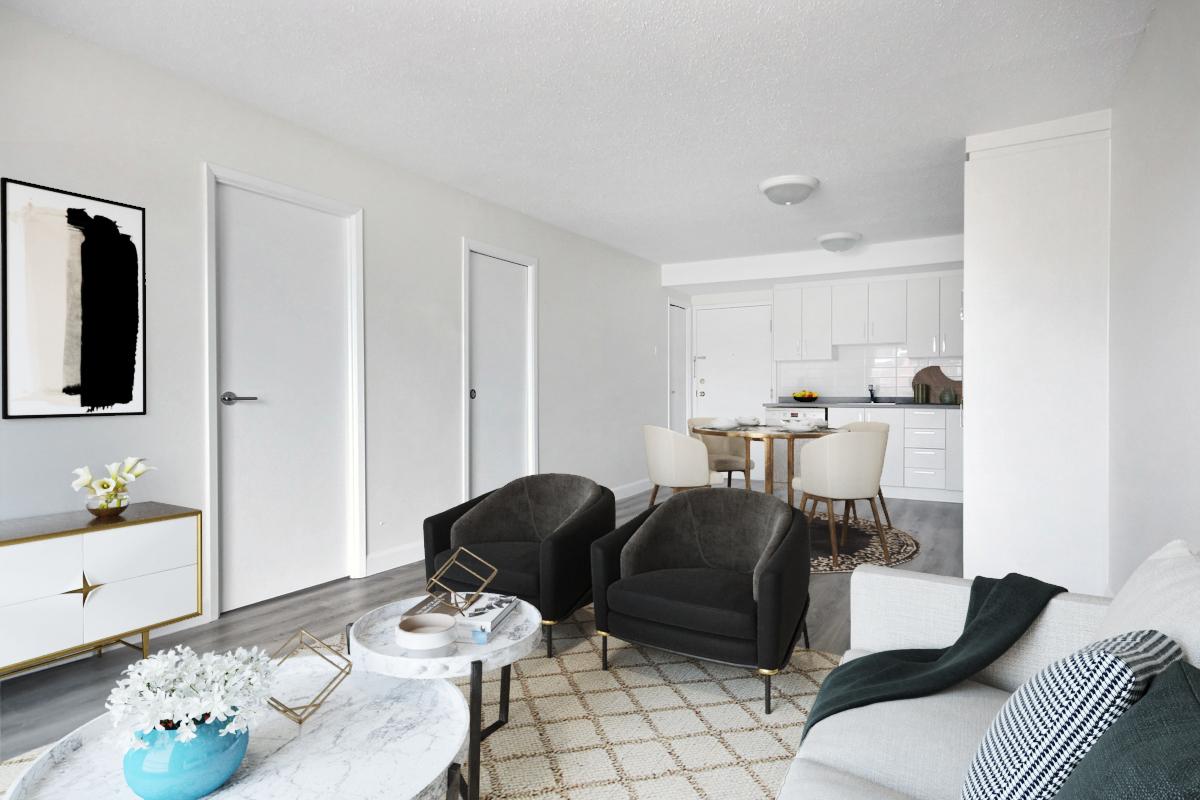 1 bedroom Apartments for rent in Quebec City at Les Appartements du Verdier - Photo 01 - RentersPages – L407123