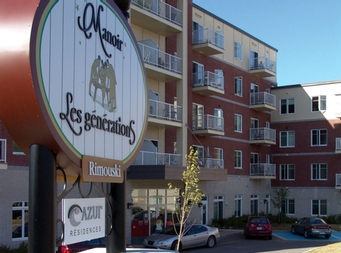 1 bedroom Independent living retirement homes for rent in Rimouski at Manoir Les Generations - Photo 10 - RentersPages – L19094