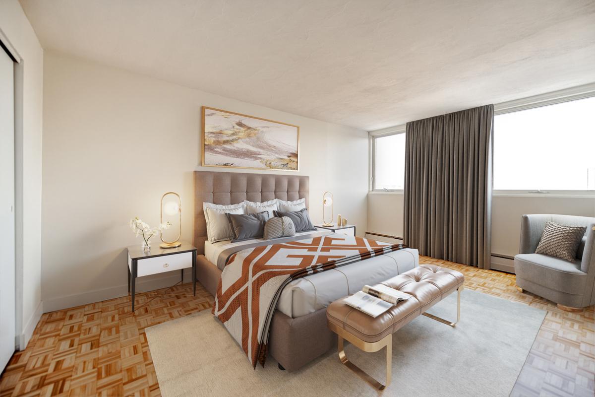 1 bedroom Apartments for rent in Quebec City at Place Samuel de Champlain - Photo 02 - RentersPages – L407129