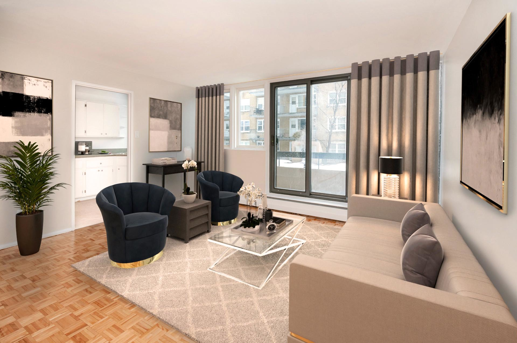1 bedroom Apartments for rent in Quebec City at Place Samuel de Champlain - Photo 13 - RentersPages – L407129