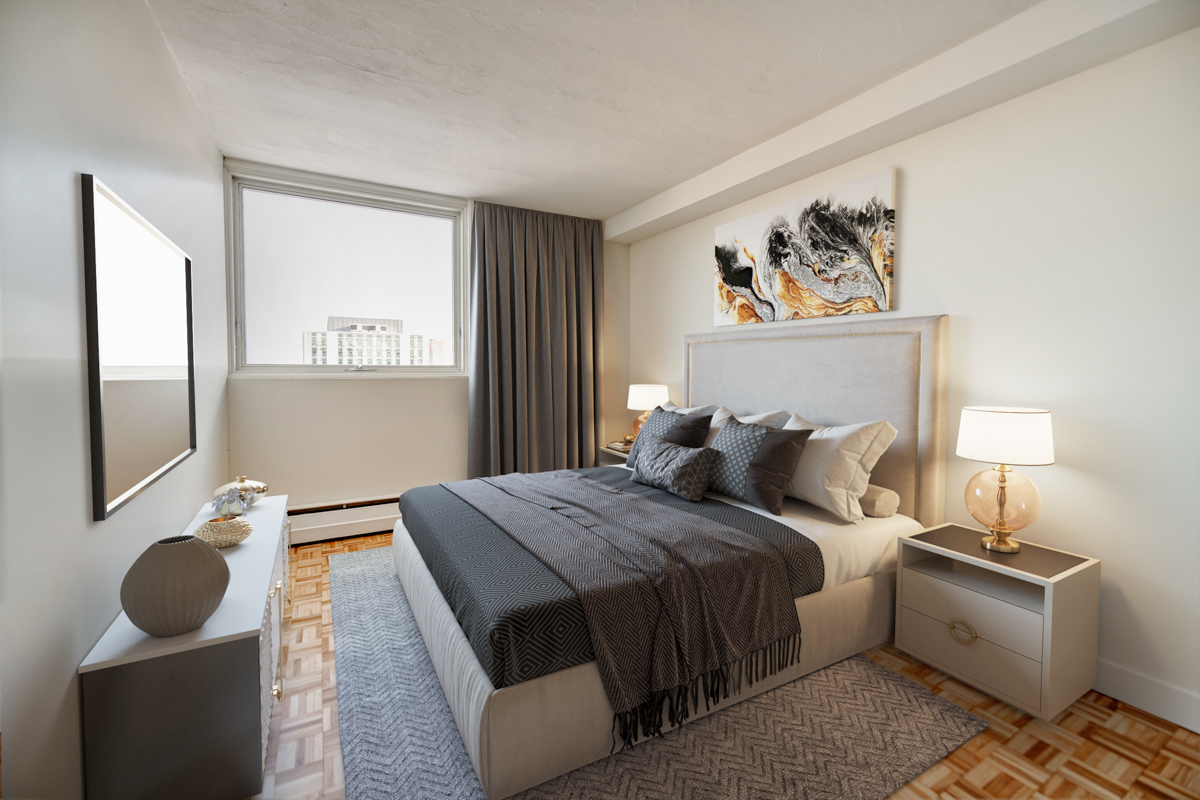 1 bedroom Apartments for rent in Quebec City at Place Samuel de Champlain - Photo 03 - RentersPages – L407129
