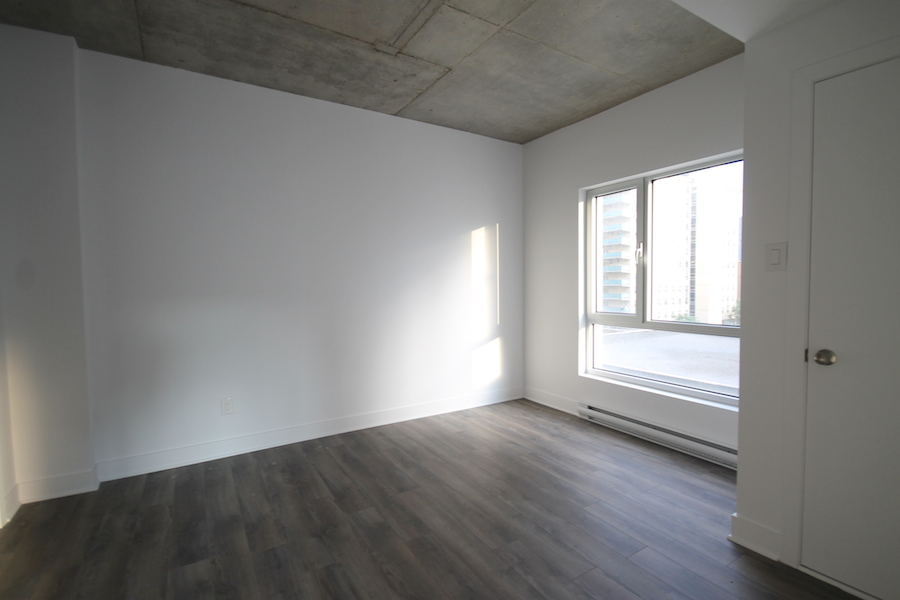luxurious 2 bedroom Condos for rent in Montreal (Downtown) at 1255 de Bullion - Photo 05 - RentersPages – L119809