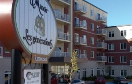 2 bedroom Independent living retirement homes for rent in Rimouski at Manoir Les Generations - Photo 01 - RentersPages – L19095
