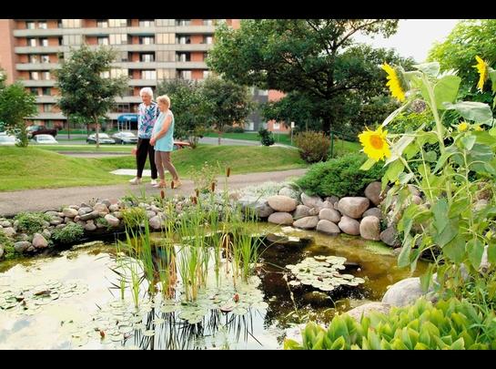 2 bedroom Independent living retirement homes for rent in Sainte Foy at Jardins Logidor - Photo 01 - RentersPages – L19556