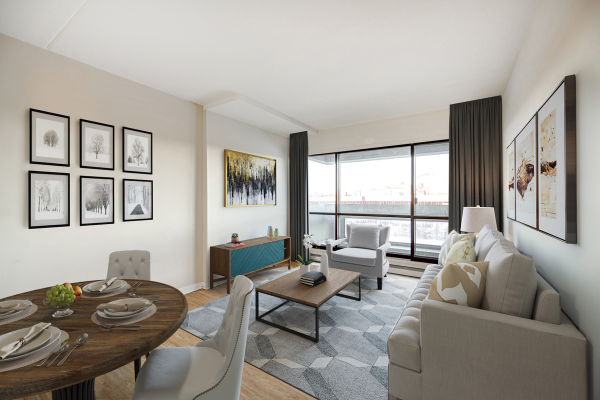 1 bedroom Apartments for rent in Quebec City at Les Jardins de Merici - Photo 21 - RentersPages – L407121