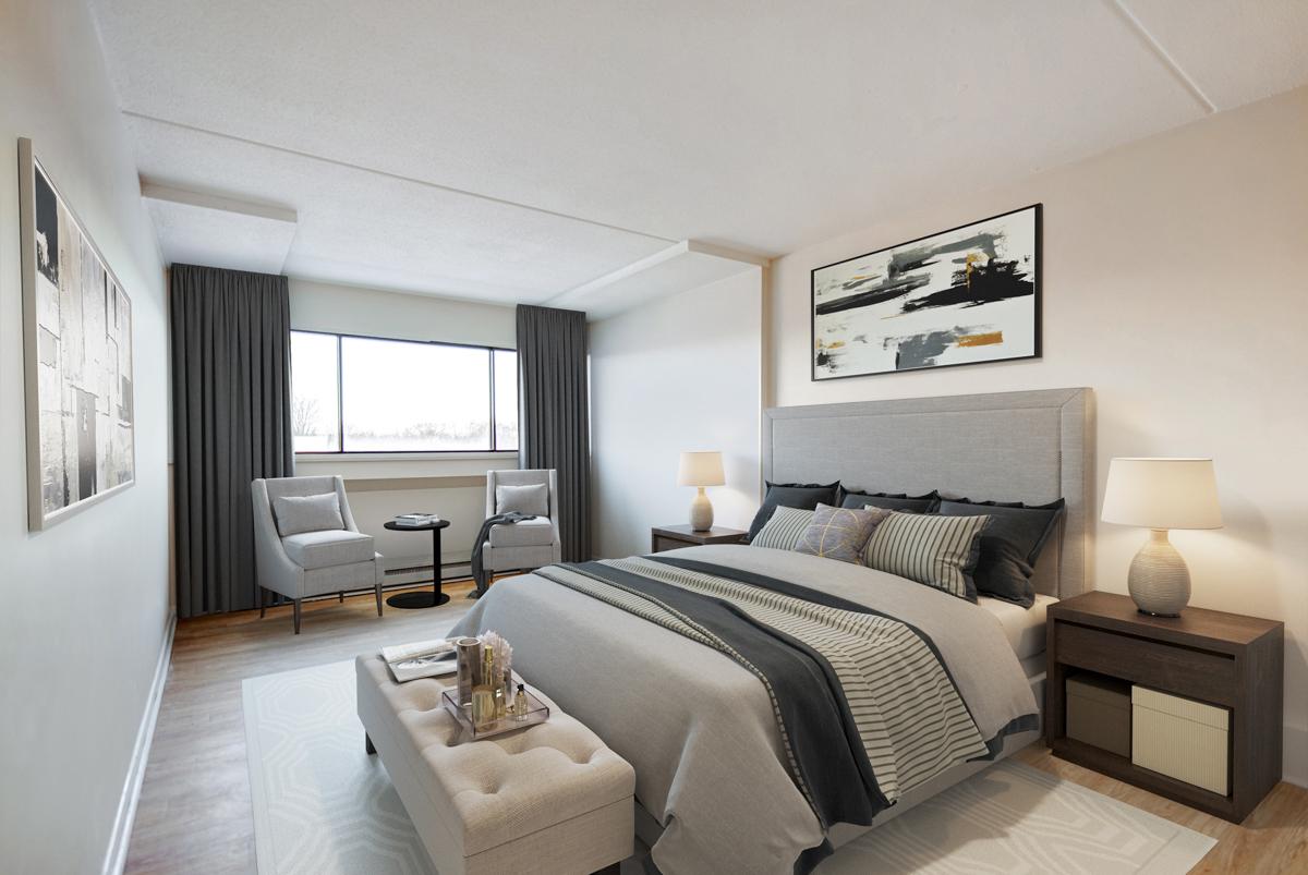 1 bedroom Apartments for rent in Quebec City at Les Jardins de Merici - Photo 24 - RentersPages – L407121