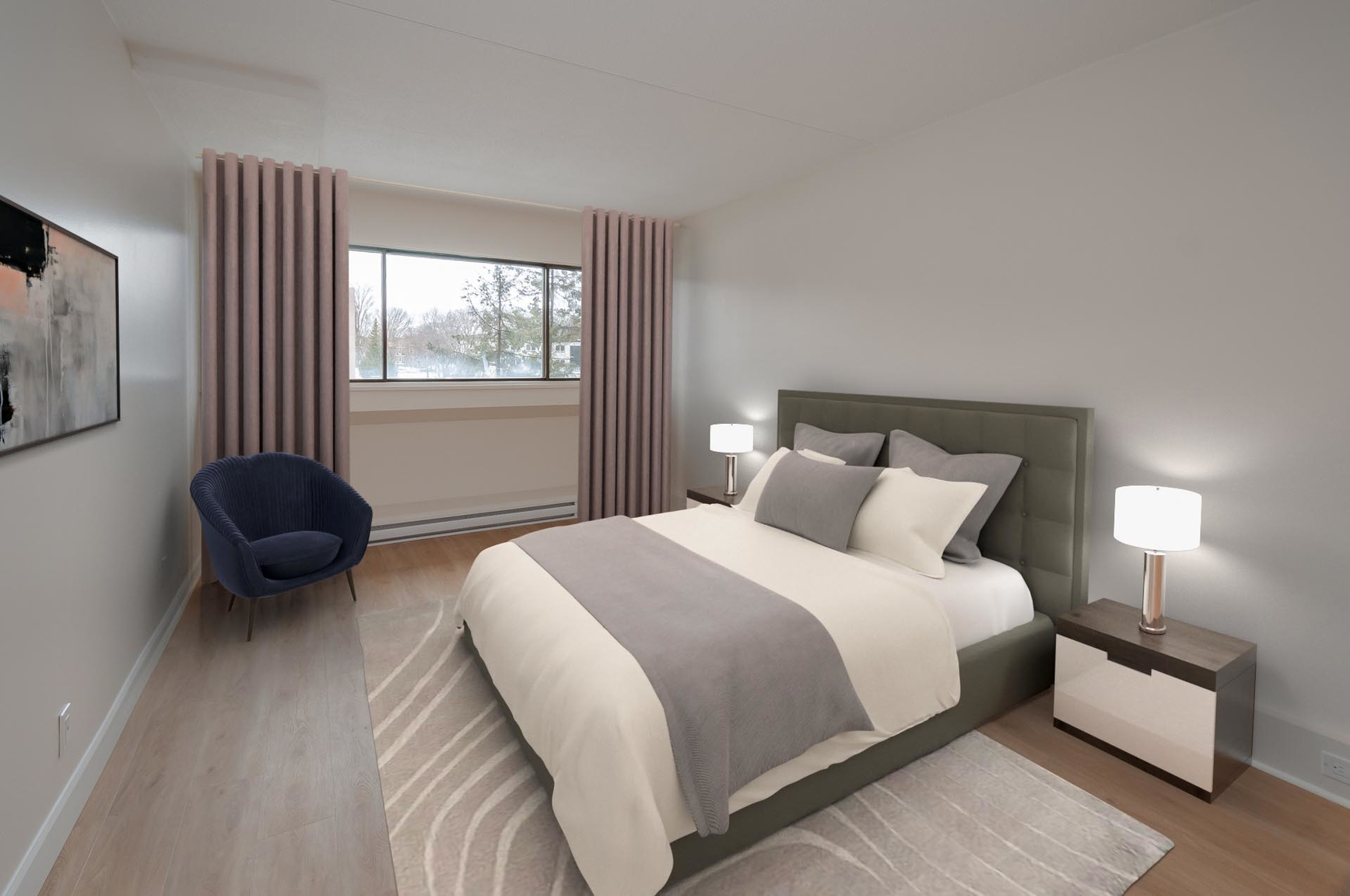 1 bedroom Apartments for rent in Quebec City at Les Jardins de Merici - Photo 17 - RentersPages – L407121