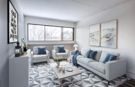 1 bedroom Apartments for rent in Quebec City at Les Jardins de Merici - Photo 01 - RentersPages – L407121
