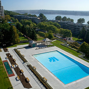 1 bedroom Apartments for rent in Quebec City at Les Jardins de Merici - Photo 32 - RentersPages – L407121