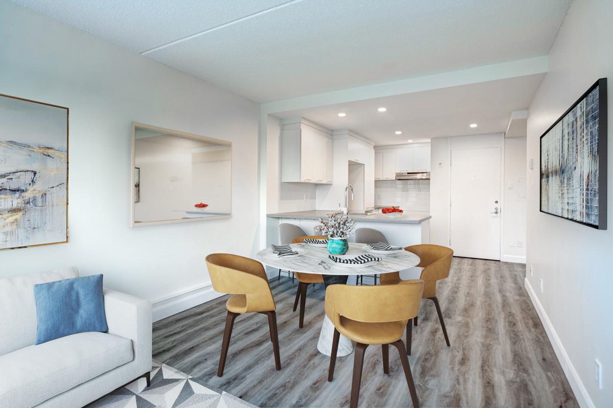 1 bedroom Apartments for rent in Quebec City at Les Jardins de Merici - Photo 02 - RentersPages – L407121