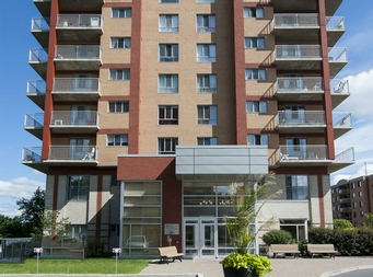1 bedroom Independent living retirement homes for rent in Laval at Domaine des Forges I - Photo 02 - RentersPages – L19470