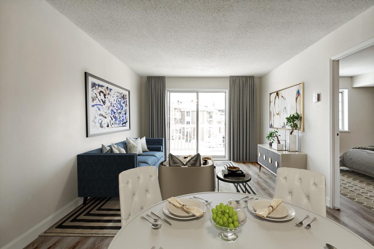 1 bedroom Apartments for rent in Quebec City at Les Appartements du Verdier - Photo 07 - RentersPages – L407122