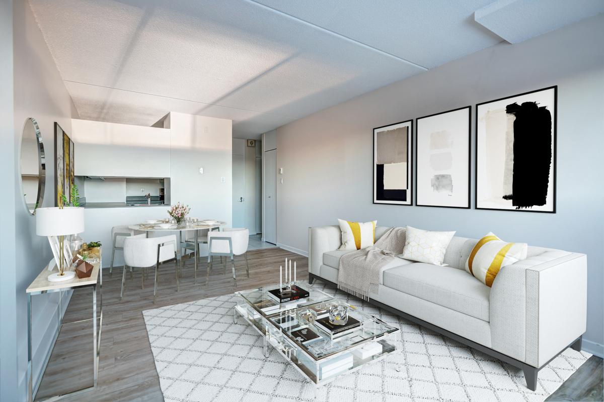 2 bedroom Apartments for rent in Quebec City at Les Jardins de Merici - Photo 27 - RentersPages – L407783