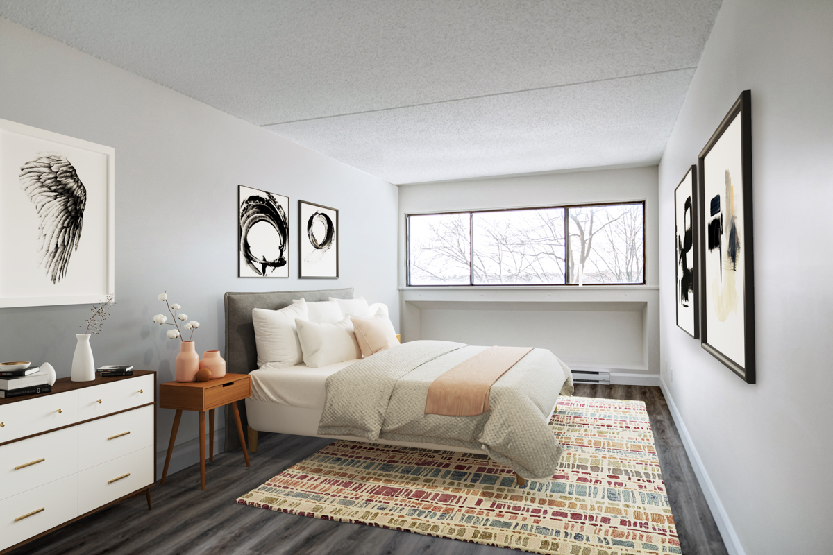 2 bedroom Apartments for rent in Quebec City at Les Jardins de Merici - Photo 03 - RentersPages – L407783