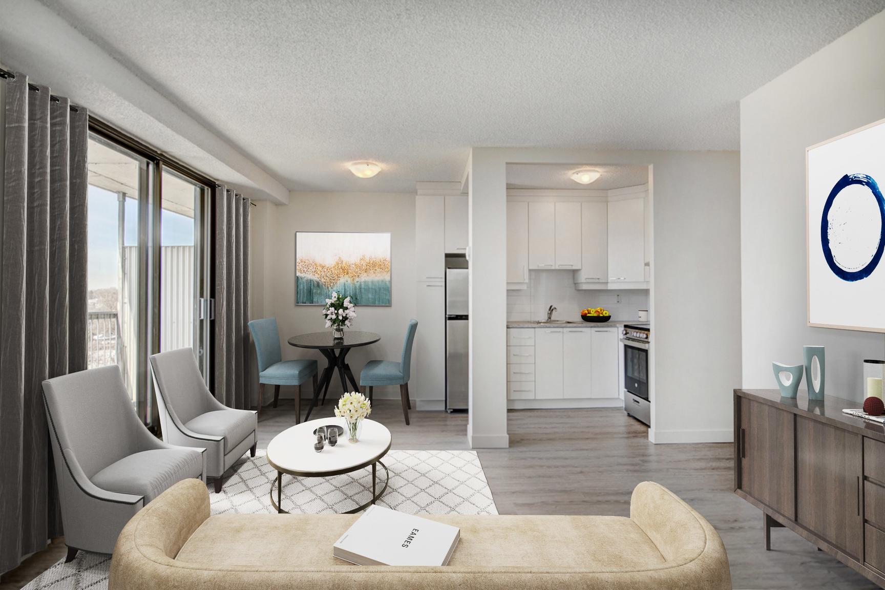 1 bedroom Apartments for rent in Laval at Le Quatre Cent - Photo 06 - RentersPages – L407184