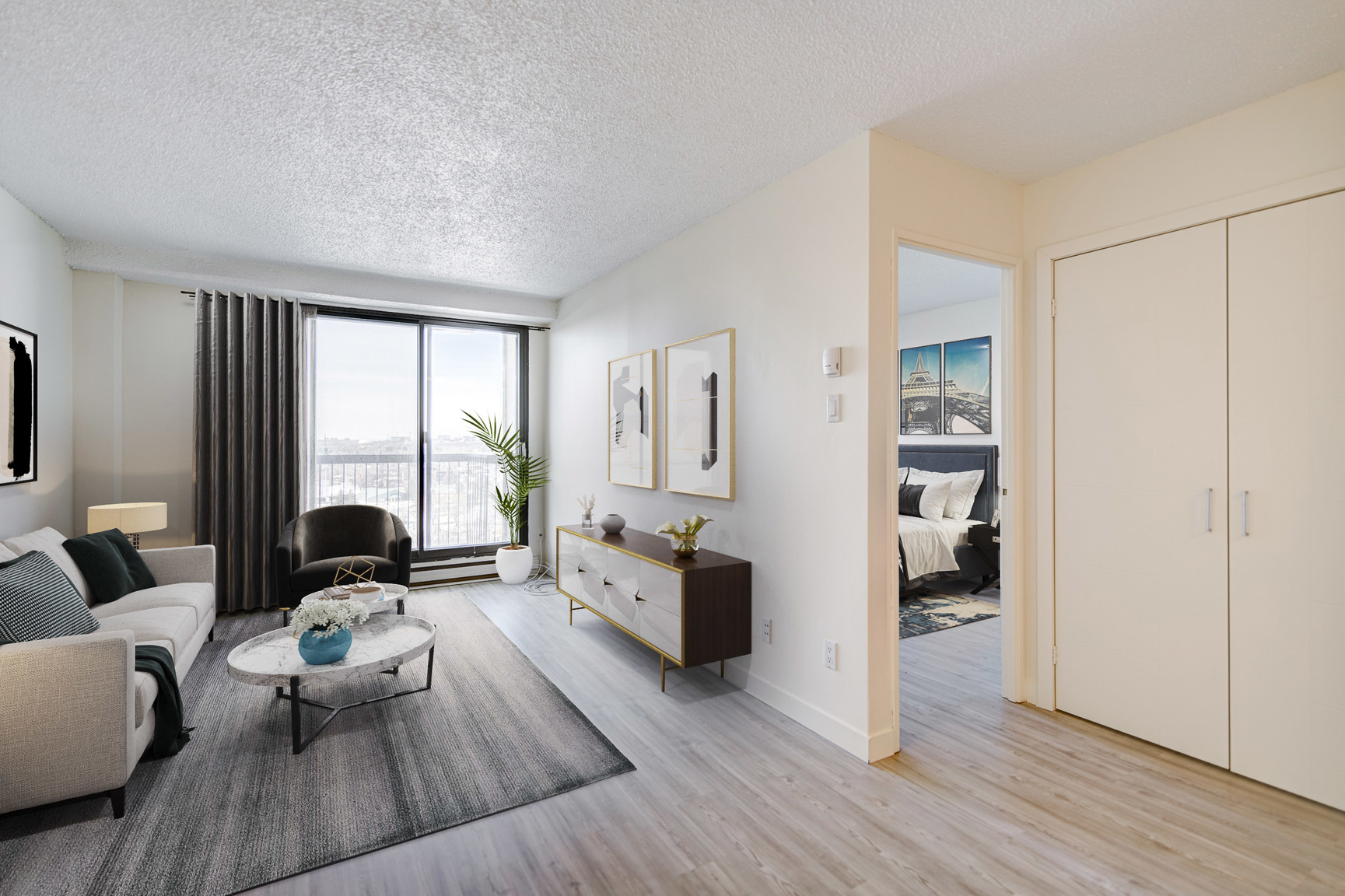 1 bedroom Apartments for rent in Laval at Le Quatre Cent - Photo 02 - RentersPages – L407184
