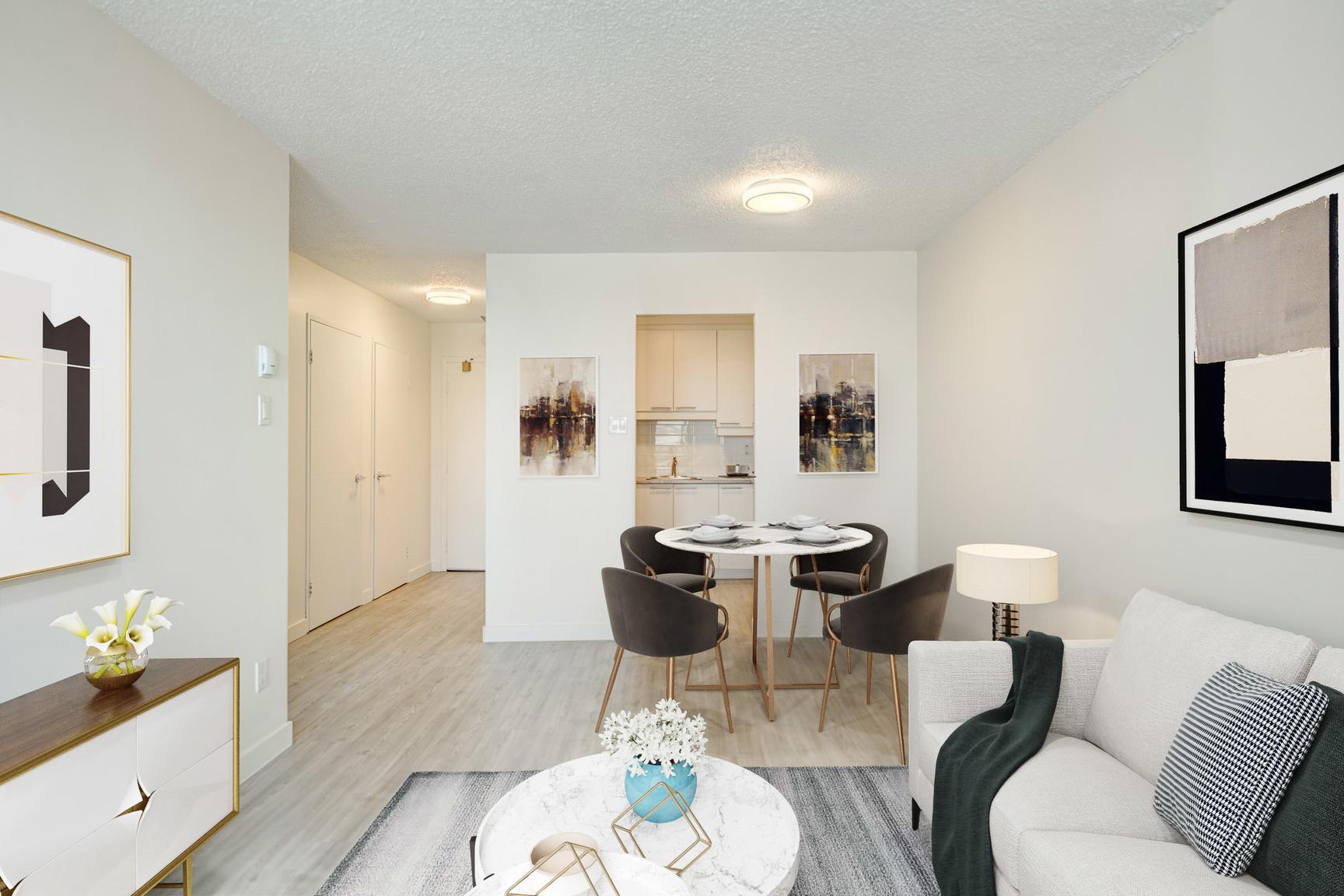 1 bedroom Apartments for rent in Laval at Le Quatre Cent - Photo 01 - RentersPages – L407184