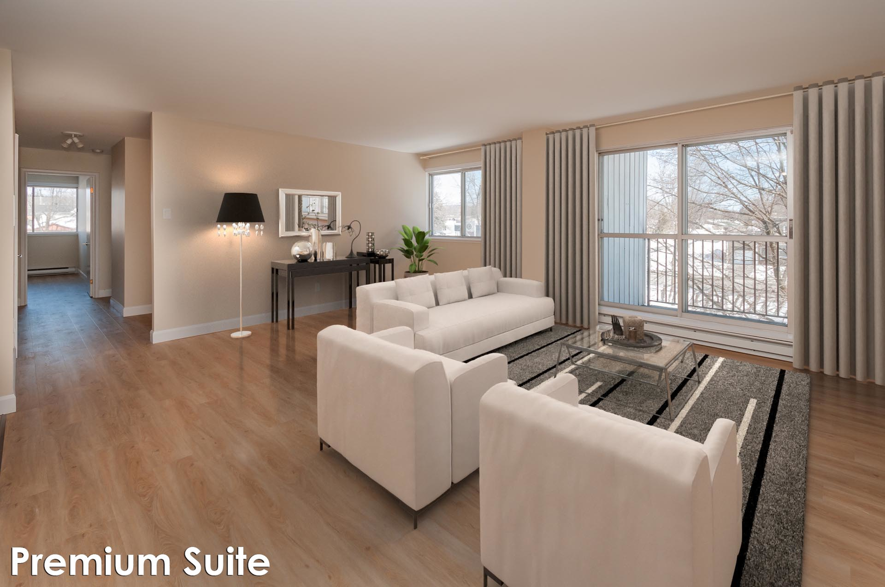 1 bedroom Apartments for rent in Quebec City at Place Charlesbourg - Photo 07 - RentersPages – L407125