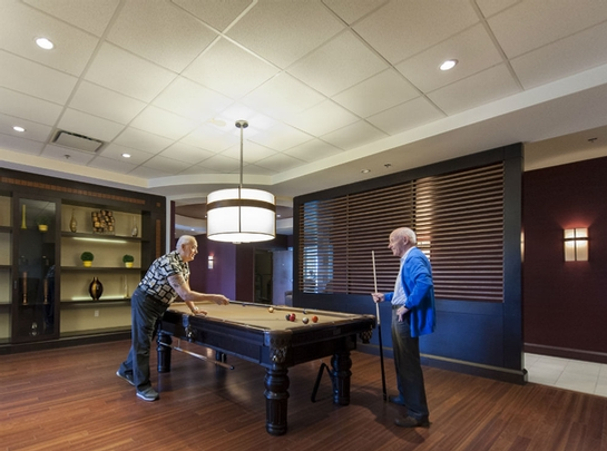 Studio / Bachelor Independent living retirement homes for rent in Les Rivieres at Jazz Lebourgneuf - Photo 08 - RentersPages – L19557