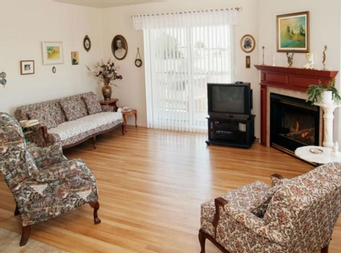 2 bedroom Independent living retirement homes for rent in Victoriaville at Villa St-Georges - Photo 03 - RentersPages – L19317
