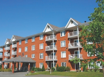 1 bedroom Independent living retirement homes for rent in Victoriaville at Villa St-Georges - Photo 06 - RentersPages – L19301
