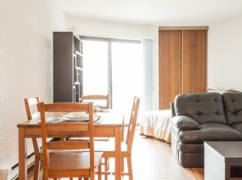 1 bedroom Independent living retirement homes for rent in Montreal-North at Residence Sault-Au-Recollet - Photo 01 - RentersPages – L19534