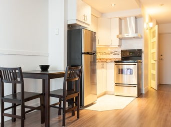 Studio / Bachelor Independent living retirement homes for rent in Montreal-North at Chateau Beaurivage - Photo 07 - RentersPages – L19509
