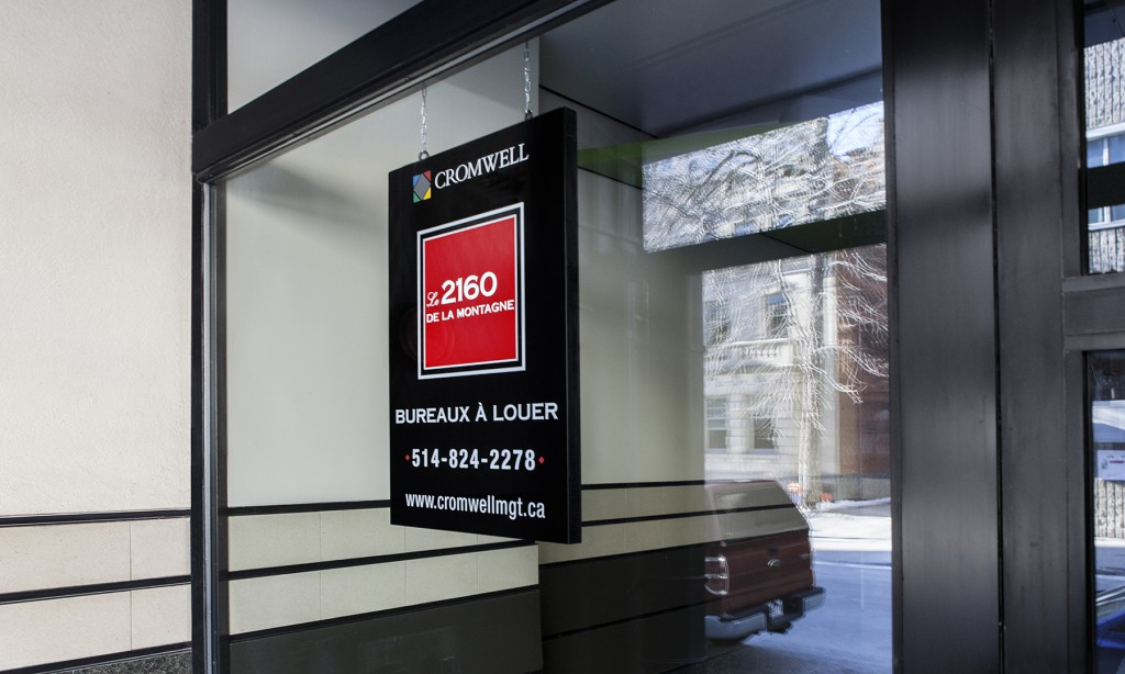 General office for rent in Montreal (Downtown) at 2160 De La Montagne - Photo 01 - RentersPages – L12759