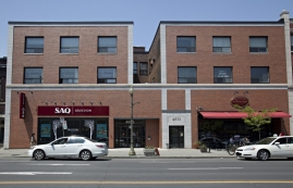 General retail space for rent in Westmount at 4817-4823 Sherbrooke West - Photo 01 - RentersPages – L12803