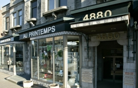 General retail space for rent in Westmount at 4868-4896 Sherbrooke West - Photo 01 - RentersPages – L12799